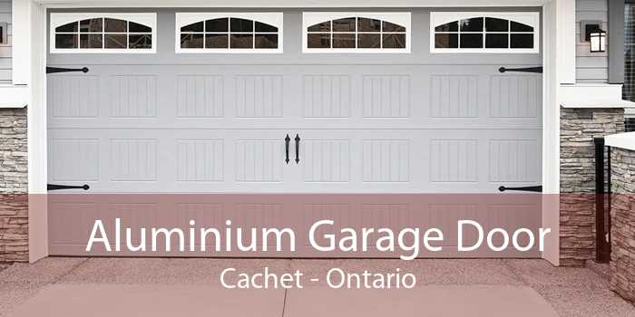 Aluminium Garage Door Cachet - Ontario