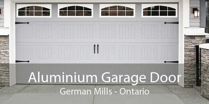 Aluminium Garage Door German Mills - Ontario