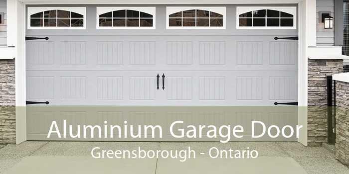 Aluminium Garage Door Greensborough - Ontario
