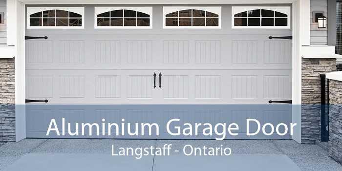 Aluminium Garage Door Langstaff - Ontario