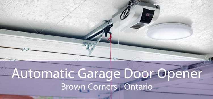 Automatic Garage Door Opener Brown Corners - Ontario