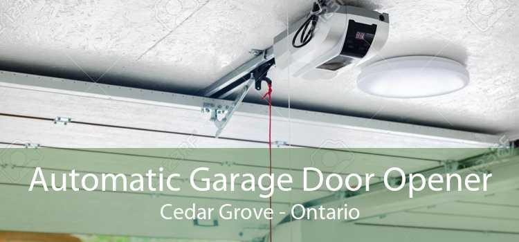 Automatic Garage Door Opener Cedar Grove - Ontario