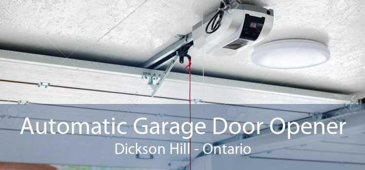 Automatic Garage Door Opener Dickson Hill - Ontario