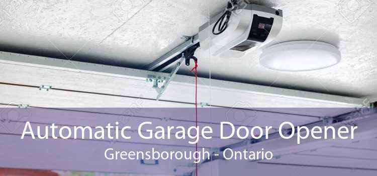 Automatic Garage Door Opener Greensborough - Ontario