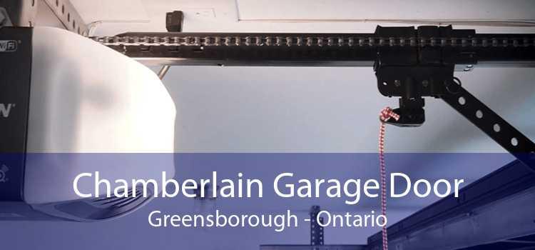 Chamberlain Garage Door Greensborough - Ontario
