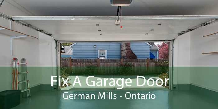 Fix A Garage Door German Mills - Ontario