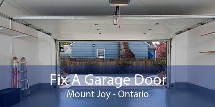 Fix A Garage Door Mount Joy - Ontario