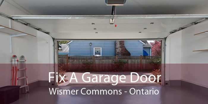 Fix A Garage Door Wismer Commons - Ontario
