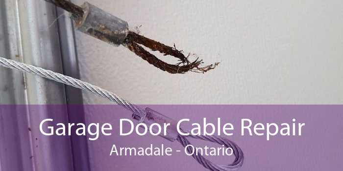Garage Door Cable Repair Armadale - Ontario
