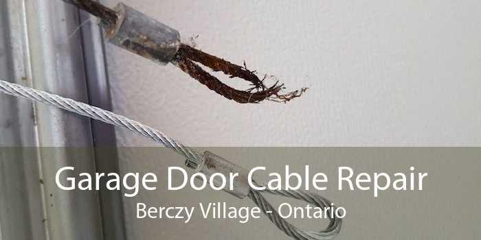 Garage Door Cable Repair Berczy Village - Ontario