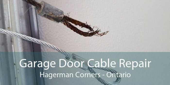 Garage Door Cable Repair Hagerman Corners - Ontario