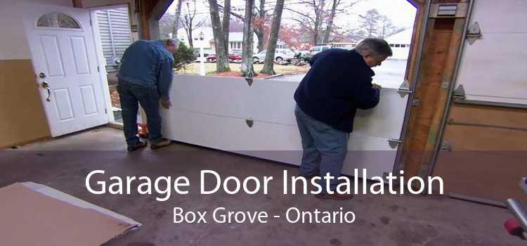 Garage Door Installation Box Grove - Ontario