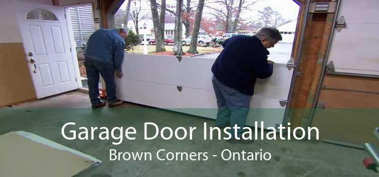 Garage Door Installation Brown Corners - Ontario