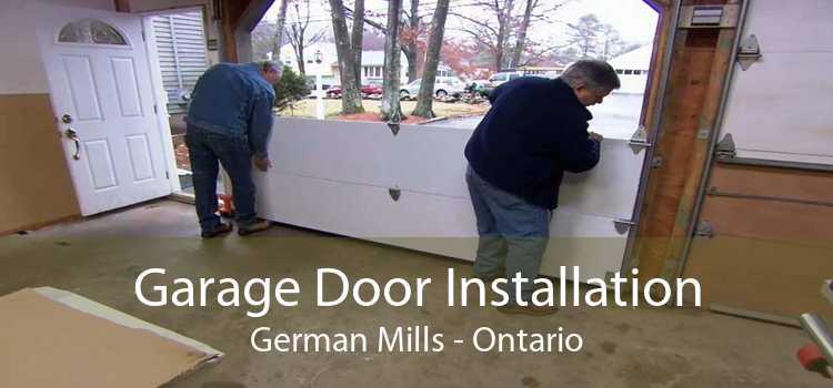 Garage Door Installation German Mills - Ontario