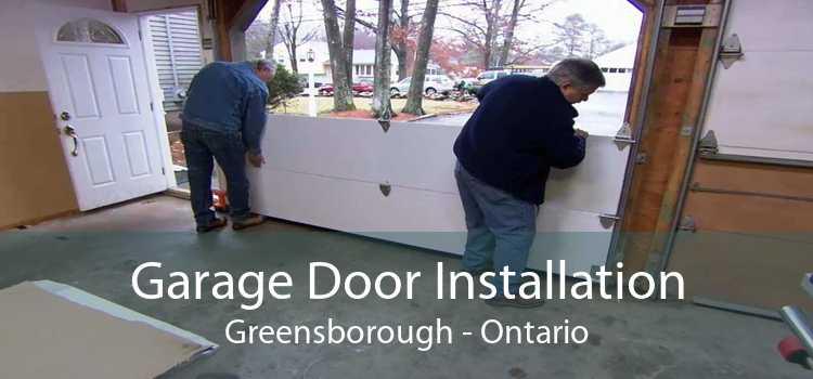 Garage Door Installation Greensborough - Ontario