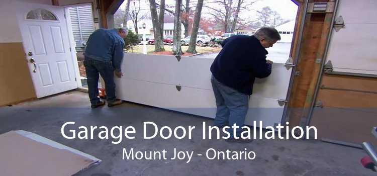 Garage Door Installation Mount Joy - Ontario