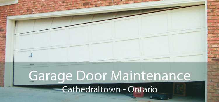 Garage Door Maintenance Cathedraltown - Ontario