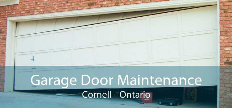 Garage Door Maintenance Cornell - Ontario