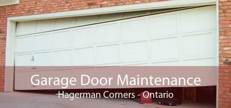 Garage Door Maintenance Hagerman Corners - Ontario