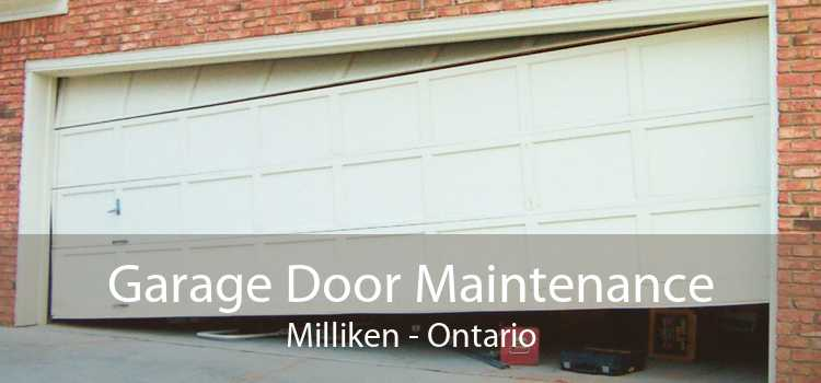 Garage Door Maintenance Milliken - Ontario