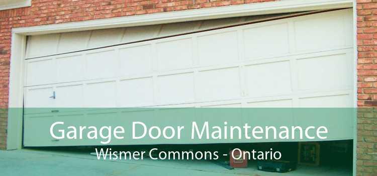 Garage Door Maintenance Wismer Commons - Ontario