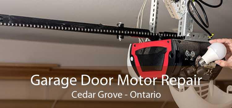 Garage Door Motor Repair Cedar Grove - Ontario