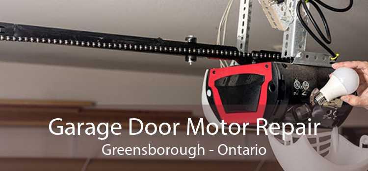 Garage Door Motor Repair Greensborough - Ontario