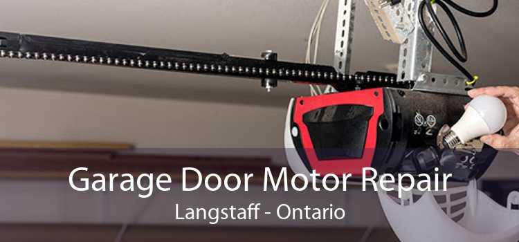 Garage Door Motor Repair Langstaff - Ontario