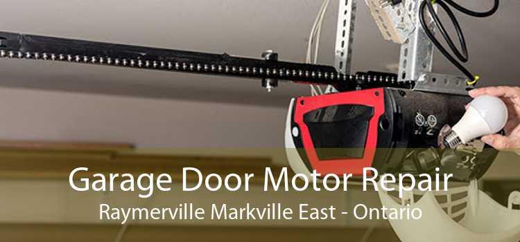 Garage Door Motor Repair Raymerville Markville East - Ontario