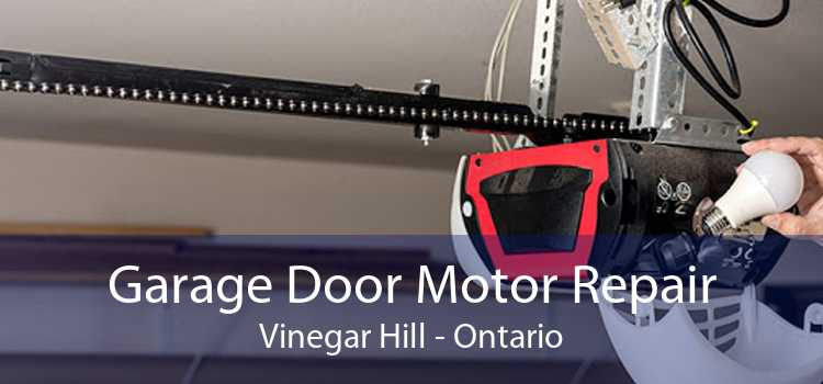 Garage Door Motor Repair Vinegar Hill - Ontario