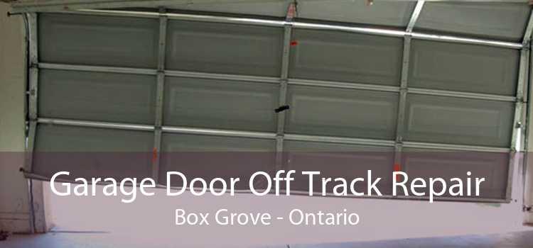 Garage Door Off Track Repair Box Grove - Ontario