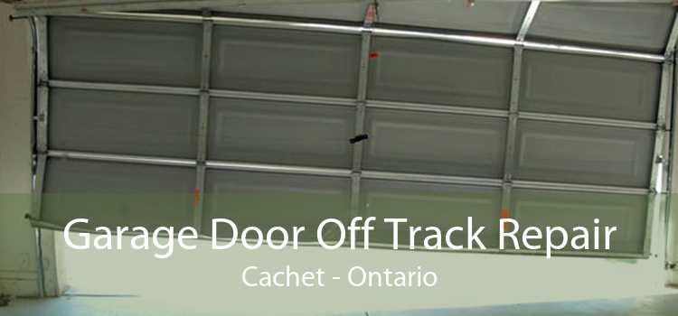 Garage Door Off Track Repair Cachet - Ontario
