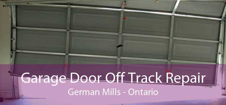 Garage Door Off Track Repair German Mills - Ontario