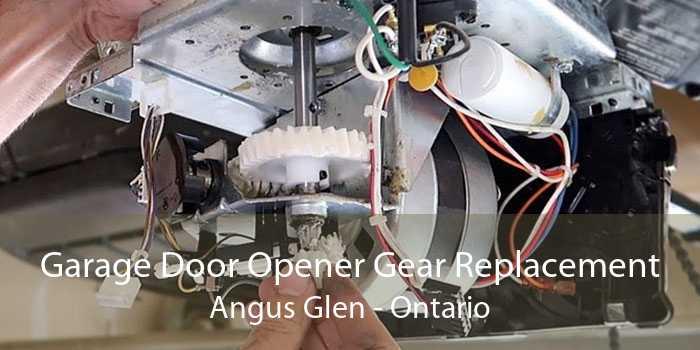 Garage Door Opener Gear Replacement Angus Glen - Ontario