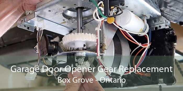 Garage Door Opener Gear Replacement Box Grove - Ontario