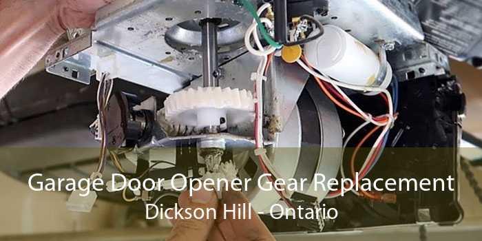 Garage Door Opener Gear Replacement Dickson Hill - Ontario