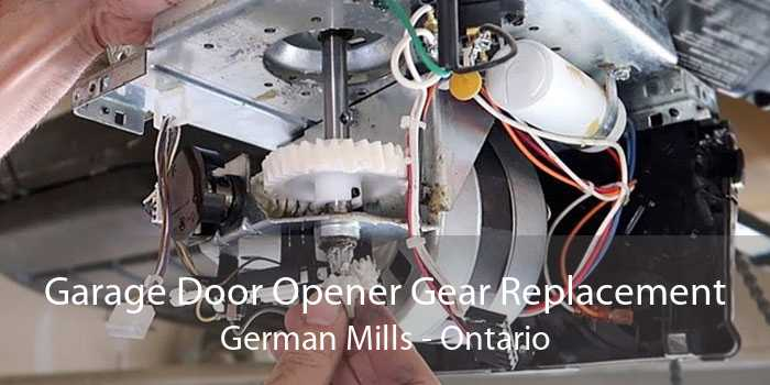 Garage Door Opener Gear Replacement German Mills - Ontario