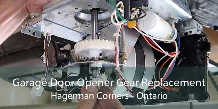 Garage Door Opener Gear Replacement Hagerman Corners - Ontario