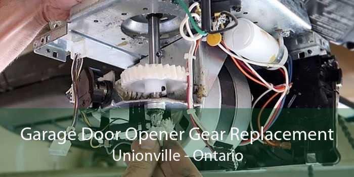 Garage Door Opener Gear Replacement Unionville - Ontario