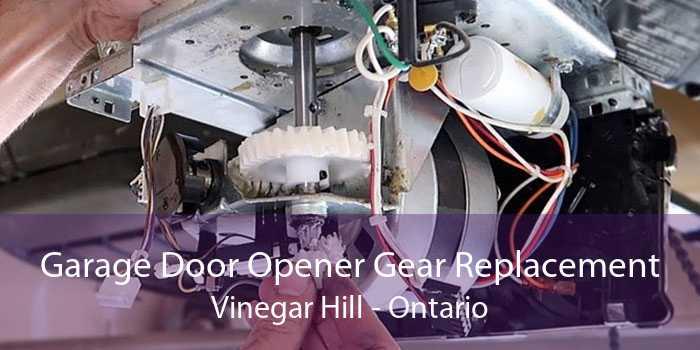 Garage Door Opener Gear Replacement Vinegar Hill - Ontario