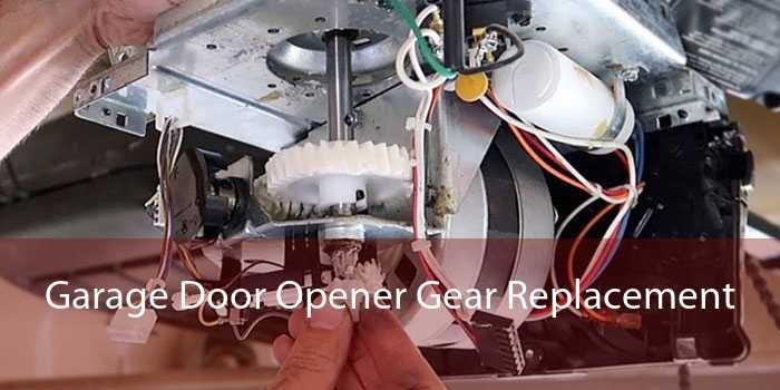 Garage Door Opener Gear Replacement