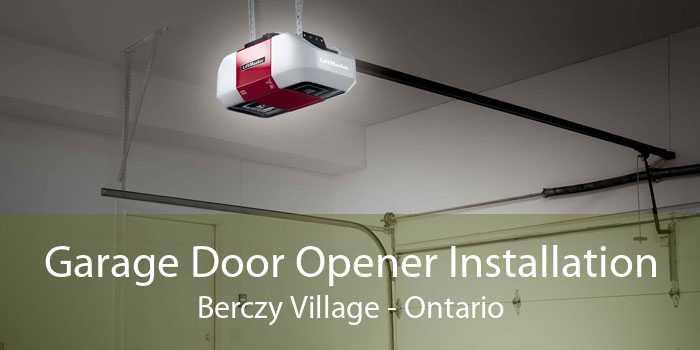 Garage Door Opener Installation Berczy Village - Ontario