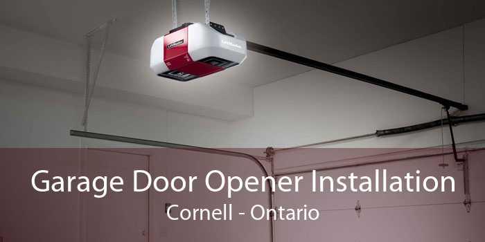 Garage Door Opener Installation Cornell - Ontario