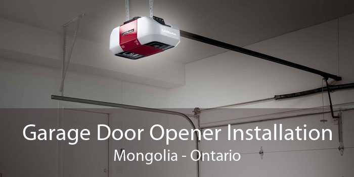 Garage Door Opener Installation Mongolia - Ontario