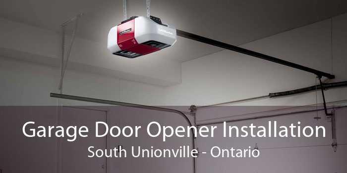 Garage Door Opener Installation South Unionville - Ontario