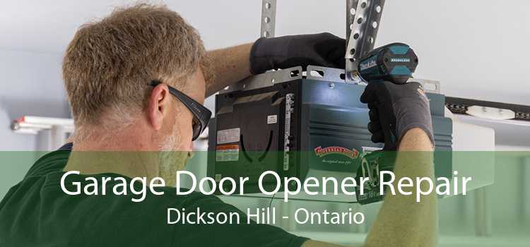 Garage Door Opener Repair Dickson Hill - Ontario