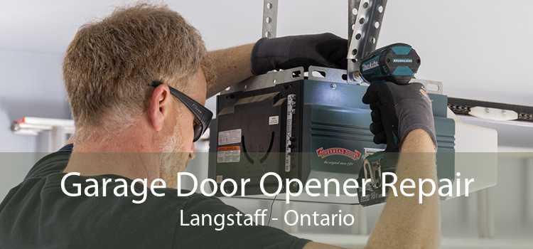 Garage Door Opener Repair Langstaff - Ontario