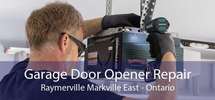 Garage Door Opener Repair Raymerville Markville East - Ontario