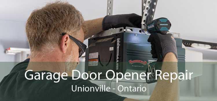 Garage Door Opener Repair Unionville - Ontario