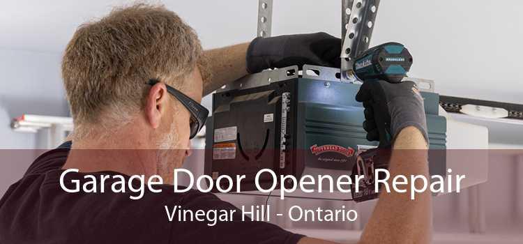 Garage Door Opener Repair Vinegar Hill - Ontario